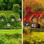 12 локаций «до» и «после» наступления осени. Невероятная красота!